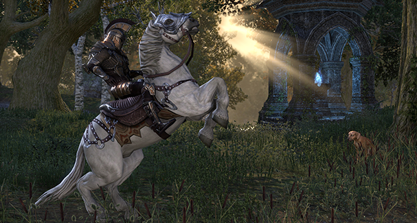 Ride your Way to ESO Gold Riches – A Primer on In-game Mounts
